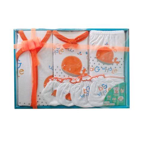 Kiddy Baju Bayi Baby Gift Set by Jual Kiddy Baby 11159 Big Whale Gift Set Pakaian Bayi