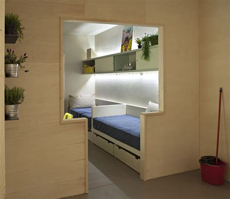 mini apartments freedom room new hospitality concept made and conceived
