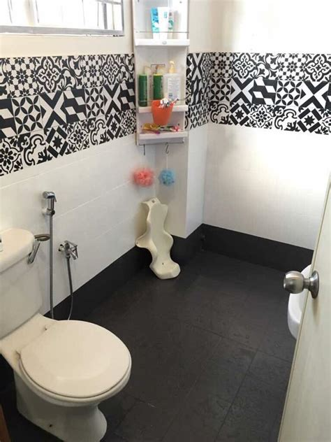 gambar lihat bagaimana pasangan  makeover tandas