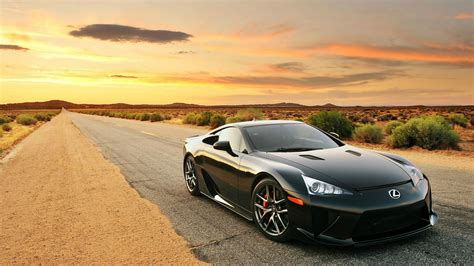 lexus lfa sports car wallpapers and images wallpapers