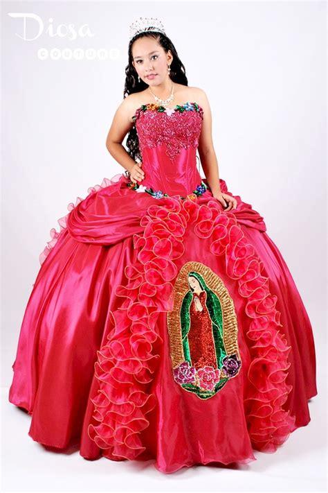 Vajinas Virgenes De 15 | quinceanera moda virgen de guadalupe quince dress para