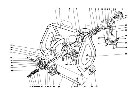 toro snowblower parts diagram toro parts 521 snowthrower
