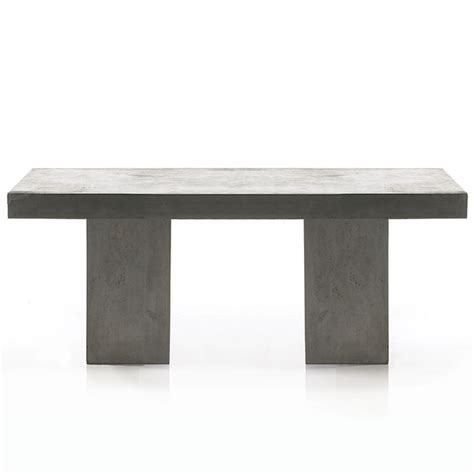 concrete outdoor table newport rectangular concrete outdoor table
