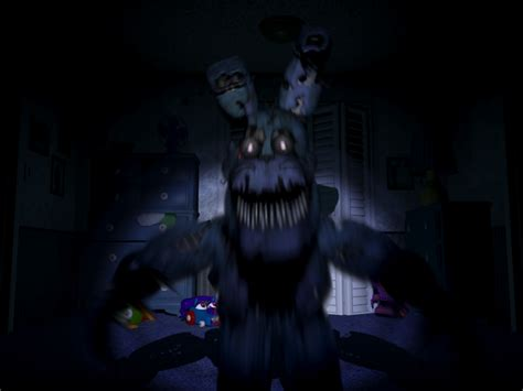 Five Nights At Freddy S 4 Nightmare Bonnie By Thesitcixd
