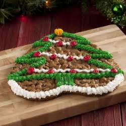 mrs fields christmas tree cookie cake