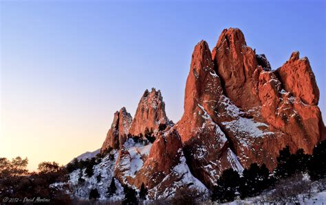 Garden Of The Gods Winter by Garden Of The Gods Lake Photography