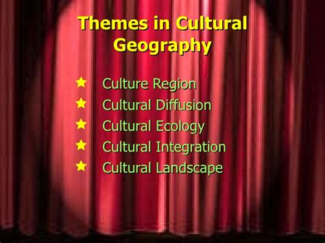 Cultural Landscape Definition Geography What Is Cultural Geography