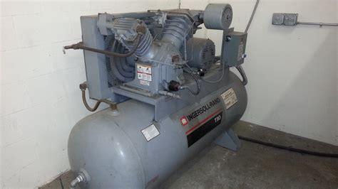 ingersollrand hp air compressor  speedaire chiller