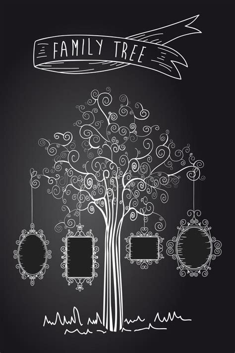 Vintage Family Tree Royalty Free Stock Images Image 32018779 Family Tree Template Vintage Vector Illustration Stock Vector 397284052