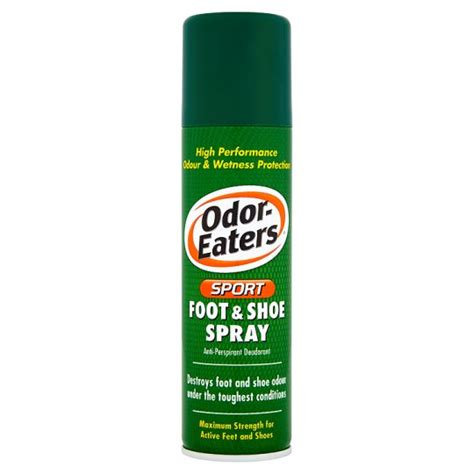 shoe odor spray odor eaters sports foot and shoe spray 150ml groceries