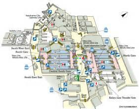 Tokyo Station Floor Plan by Jr East Guide Maps For Major Stations Yokohama Station