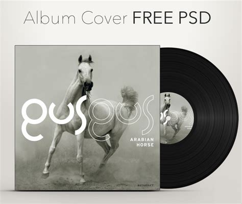 free album cover template free album cover mockup template psd titanui