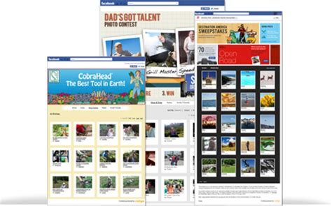 Sweepstakes Facebook App - facebook photo contest app