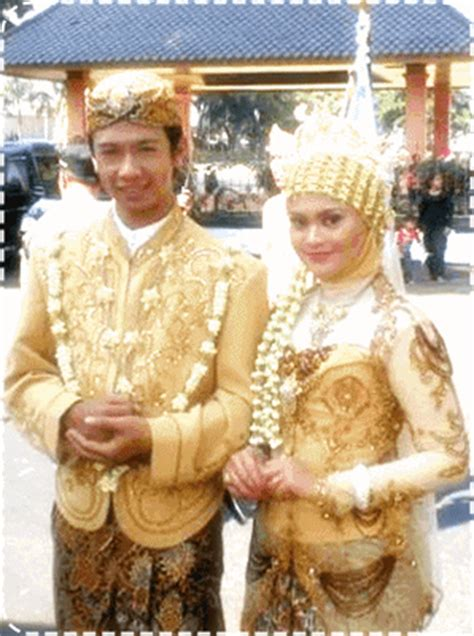 Baju Khas Jawa Barat baju adat jawa tengah barat timur pengantin pernikahan