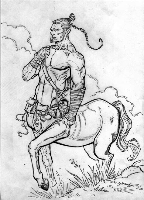 Centaur-Greek legend speaks of these rowdy and wild