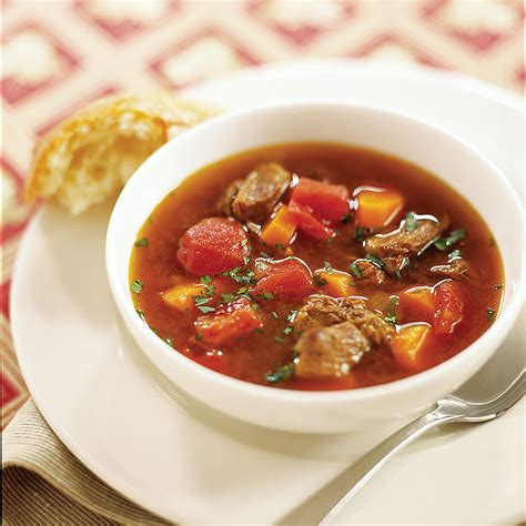 vegetable beef soup recipe hearty beef and vegetable soup