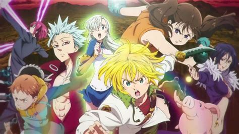 Anime 7 Deadly Sins Season 3 by The Seven Deadly Sins Season 3 Release Date On Netflix U S