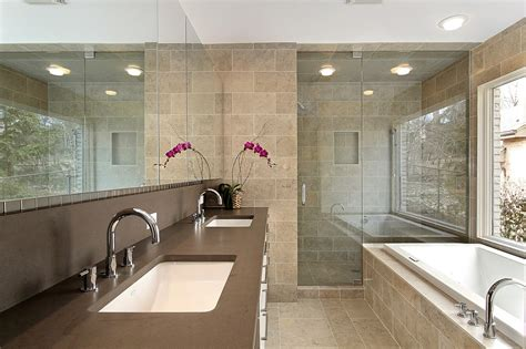 Modern Master Bathroom Remodel Ideas Master Bathroom In Luxury Homes Images Elsoar