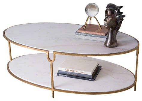 global views coffee table global views iron and oval coffee table