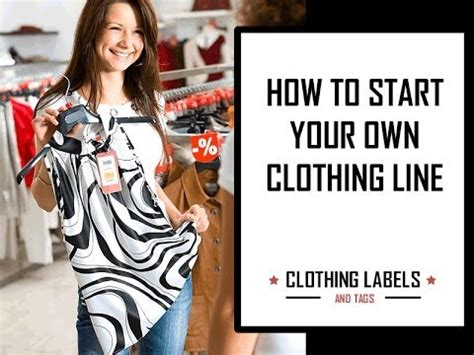 To Launch Clothing Line by How To Start Your Own Clothing Line