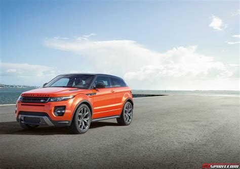 orange range rover evoque official 2015 range rover evoque autobiography and