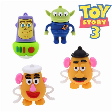 Usb Flashdisk Karakter Toys Story 16gb amthin pendrive story aliens usb flash drives thumb