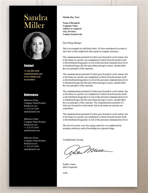 professional cv design templates free download examples resume