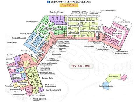 toronto general hospital floor plan mid coast hospital floor plans level 1 healthcare
