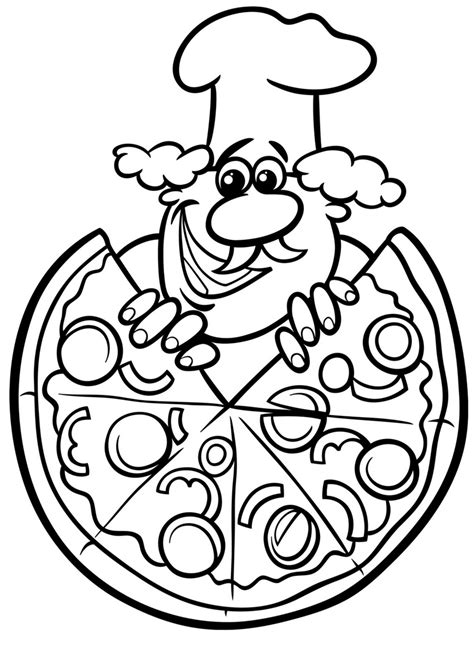 pizza coloring pages pizza colouring pages and pizza with chicago town