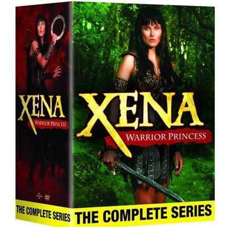 Set Xena xena warrior princess the complete series walmart