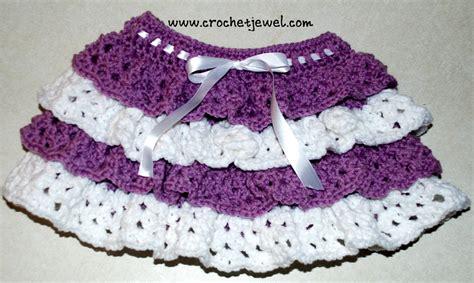 pattern crochet ruffle skirt girls crochet ruffle skirt allfreecrochet com