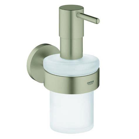 bench mounted soap dispenser simplehuman triple wall mount shoo and soap dispenser