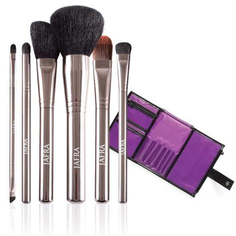 Make Up Jafra jafra cosmetics professional brush set storage the makeup brushes