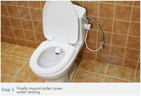 smarter bathrooms reviews heshe b81 smart toilet seat bidet set with eu adapter white