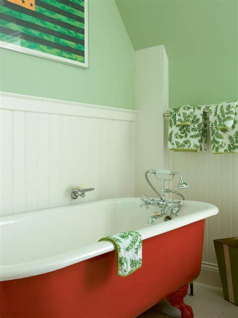 green bathtub photo page hgtv