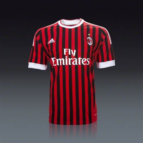Jersey Go Ac Milan Home adidas youth ac milan home jersey 11 12