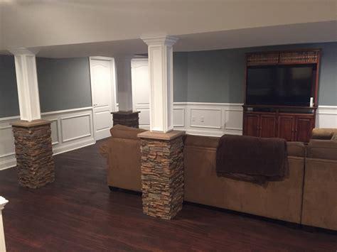 basement column wraps stylish basement column idea creative columns