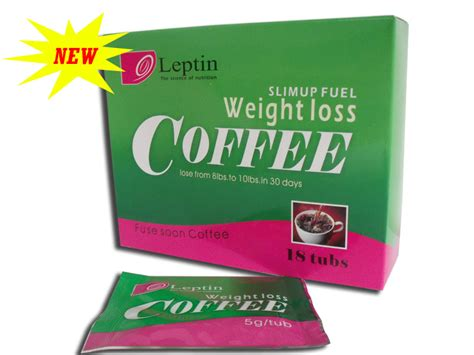 Coffee Weight Management leptin slim up fuel weight loss coffee slimming