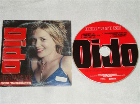 Cd Dido No 2001 dido here with me remixes cd promo bmg arista 2001