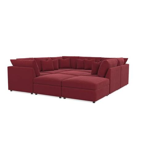 pit sectional couch sectional pit sofa custom upholstered pit shaped