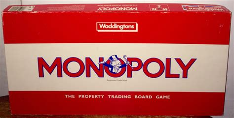 Tons Of Tile by Monopoly Board Game By Waddingtons Original Classic