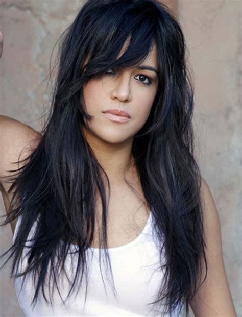 hairstyles for long hair bangs 100 cute inspiration hairstyles with bangs for long round