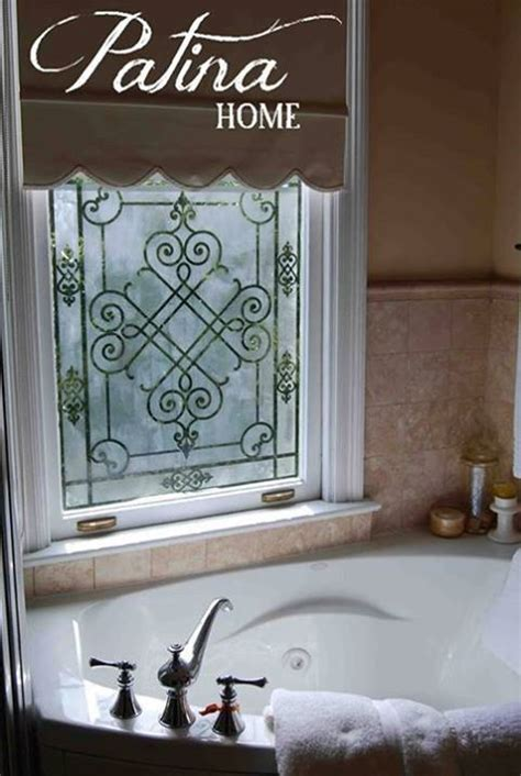 window stencils 1000 ideas about etched mirror on beveled