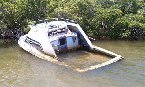 half cabin boats for sale uk derelict boats a problem boatus magazine