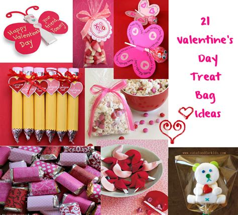 valentines ideas food for s day treat bag ideas