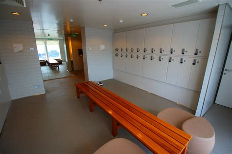 s locker room getaway spa suite cruise review