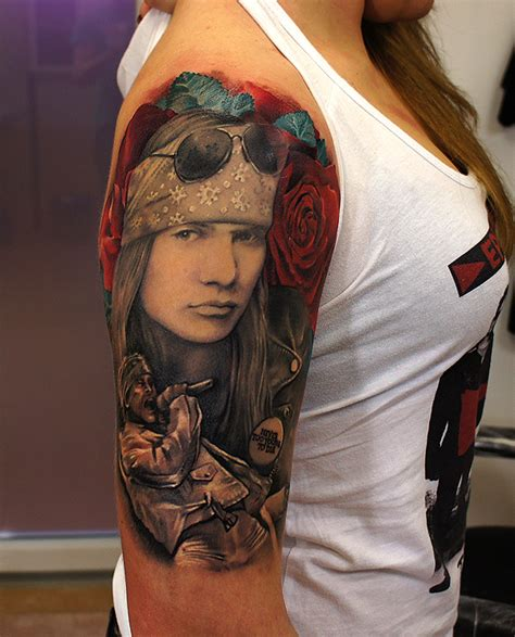 axel rose tattoos axl by grimmy3d on deviantart