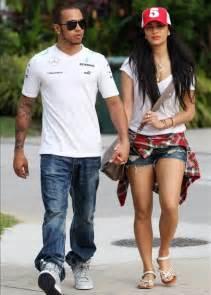 nicole scherzinger visits boyfriend lewis hamilton ahead