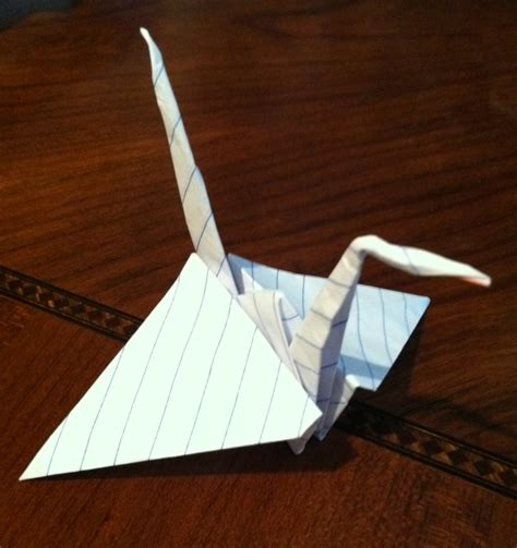 Moving Origami Crane - origami christine m grote