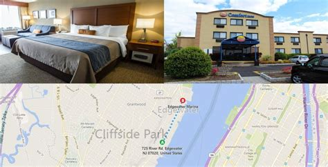 comfort inn edgewater new jersey hotels for taking a ferry from nj to nyc new jersey